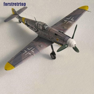 【FSTTTOP】1:32 Germany Bf-109 G6/G14 Bomber Aircraft Model 3D Papercraft Kits T