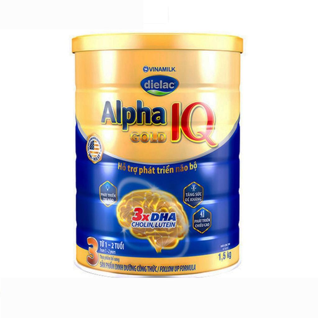 Sữa Bột Alpha Gold 3 1kg5