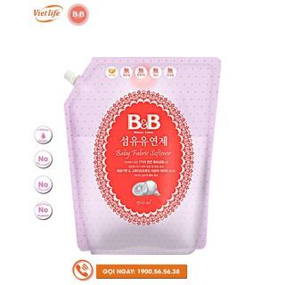 NƯỚC XẢ VẢI DÀNH CHO BÉ HƯƠNG CAM BERGAMOT B&B TÚI 1500ML thumbnail
