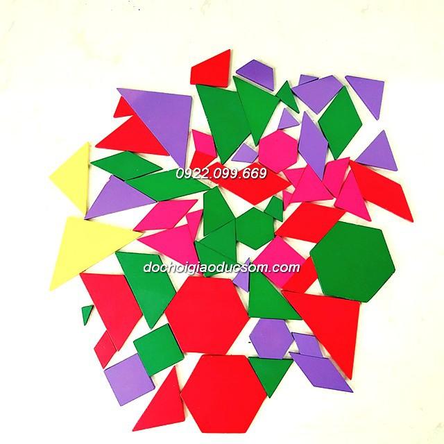 Pattern block túi - 60 chi tiết gỗ