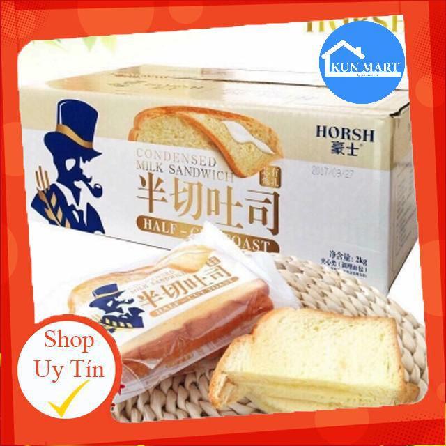 Bánh Mì Sanwich 👌FREESHIP👌Bánh Mì Sanwich Đài Loan Thơm Ngon (1 Cái)