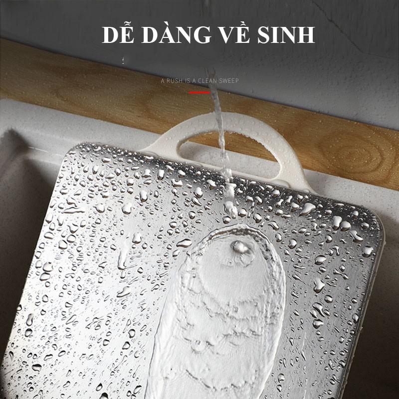 Thớt 2 mặt Inox và Nhựa kháng khuẩn độ bền cao | Shopee Việt Nam