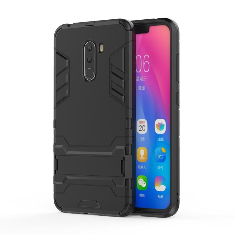 Protective Stand 2 in 1 Case for Xiaomi Pocophone F1 Xiaomi Poco F1 6.18 inch