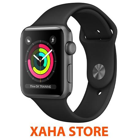 Đồng hồ thông minh Apple Watch Series 3 GPS - 38mm/42mm - vỏ nhôm - nguyên seal - mới 100%