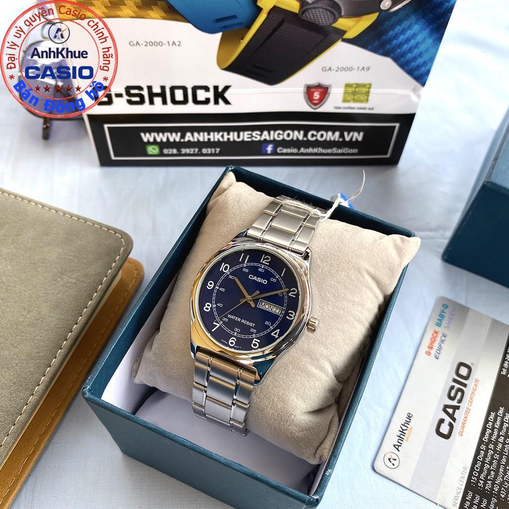 Đồng hồ nam Casio MTP-V006 MTP-V006D MTP-V006G MTP-V006SG bảo hành 1 năm chính hãng