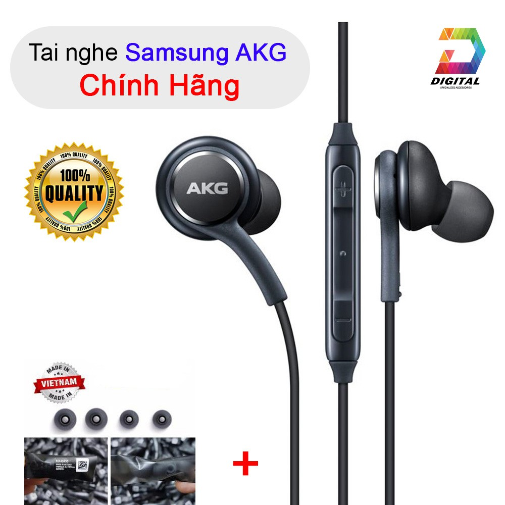Tai Nghe AKG Bóc Máy S8 , S8 Plus , S9 , S9 Plus , Note 8, Note 9 Chính Hãng Âm Thanh Cực Hay