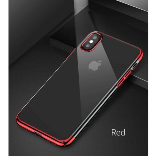 Ốp viền màu iphone x hiệu baseus