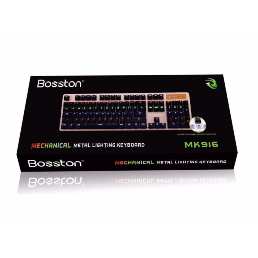 Phím cơ Bosston 916 (Phím cơ 100%)