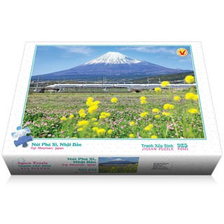 Bộ tranh xếp hình jigsaw puzzle 925 mảnh – Núi Phú Sĩ, Nhật Bản