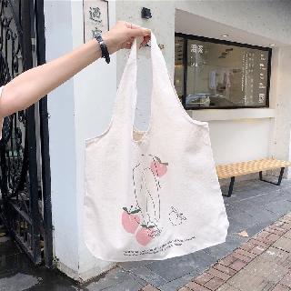 Hình ảnh Túi Vải Đeo Vai Phong Cách Nhật Bản Cao Cấp XinhStore-3
