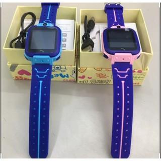 Đồng hồ thông minh trẻ em – Đồng hồ định SWQ12 CHÍNH HÃNG – Camera trước – Gắn sim nghe gọi định vị 3G 4G 4.8