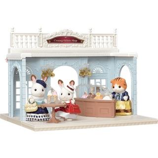 Set nhà thỏ sylvanian families creamy gelato shop Nhật Bản