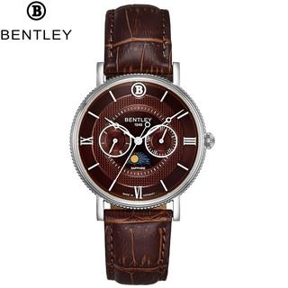 Đồng hồ nam dây da Bentley BL1865 BL1865-30 BL1865-30MWDD thumbnail