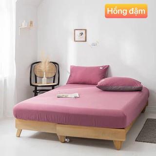 Ga trải giường bo chun chất thun Tici thấm hút tốt , chát chọn kích thước