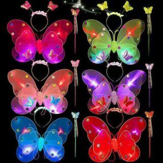 Cánh bướm có đèn cho bé