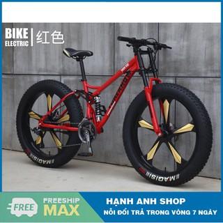 Xe đạp thể thao bánh béo Foreknow 26inch 4.0 Vành đúc 5 chấu ,24 Tốc độ - Thương hiệu đài loan - Bảo hành 2 năm thumbnail
