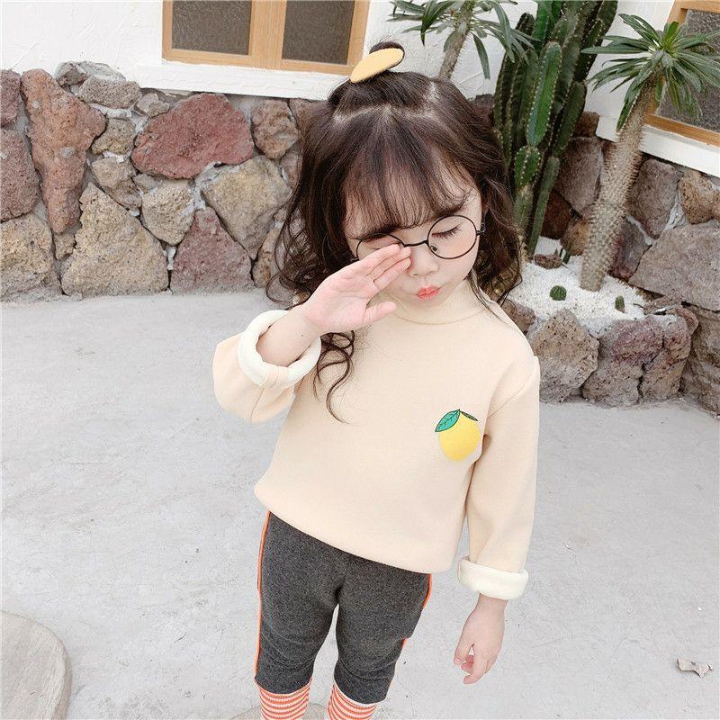 Áo len tăm cho bé gái, bé trai in hình hoa quả cực dễ thương