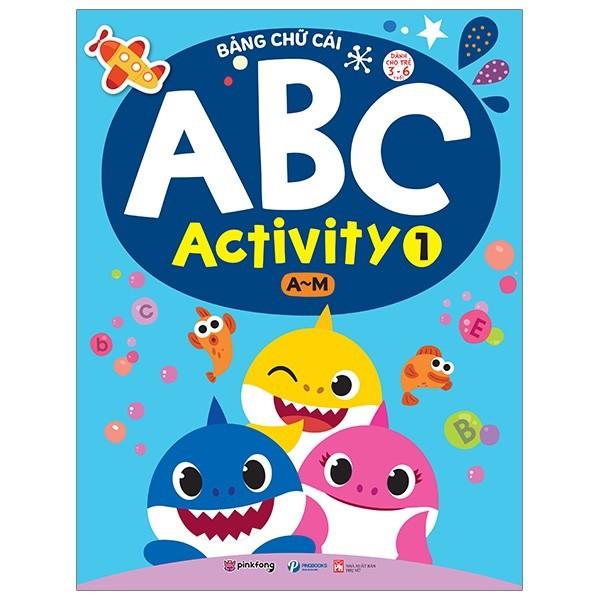 Sách - Bảng Chữ Cái ABC Activity 1 (A-M)