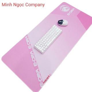 Bàn Di Chuột Edra EMP901 Pink chất lượng cao (90x40x0,3 cm)- Hàng Chính Hãng thumbnail