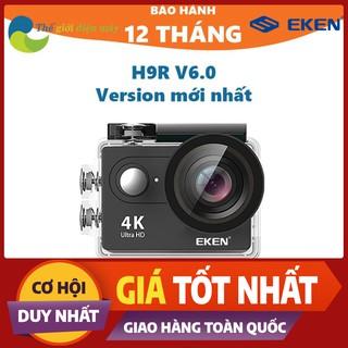 [SaleOff] Camera thể thao, camera hành trình Eken H9R(có remote) version 8.1, bảo hành 12 tháng tặng filter đỏ và tripod