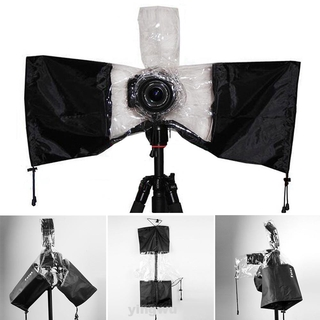 Outdoor Universal Flashes Protect PPC Wear Resistant Black Camera Rain Cover