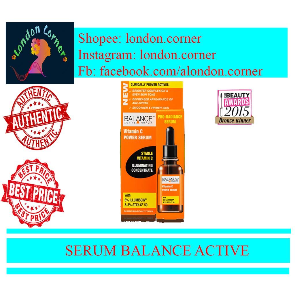 Serum Vitamin C Balance Active trị thâm, sáng da - hàng chính hãng( bill uk)