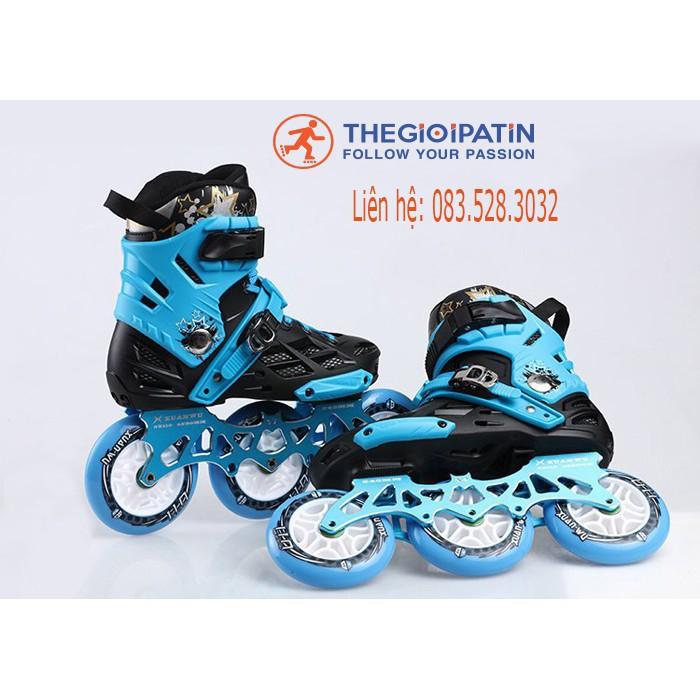 Giày patin Skates World X8 cao cấp, giày patin chính hãng