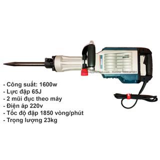 Máy Đục Bê Tông Công Suất Lớn Vimax DH30-1600W