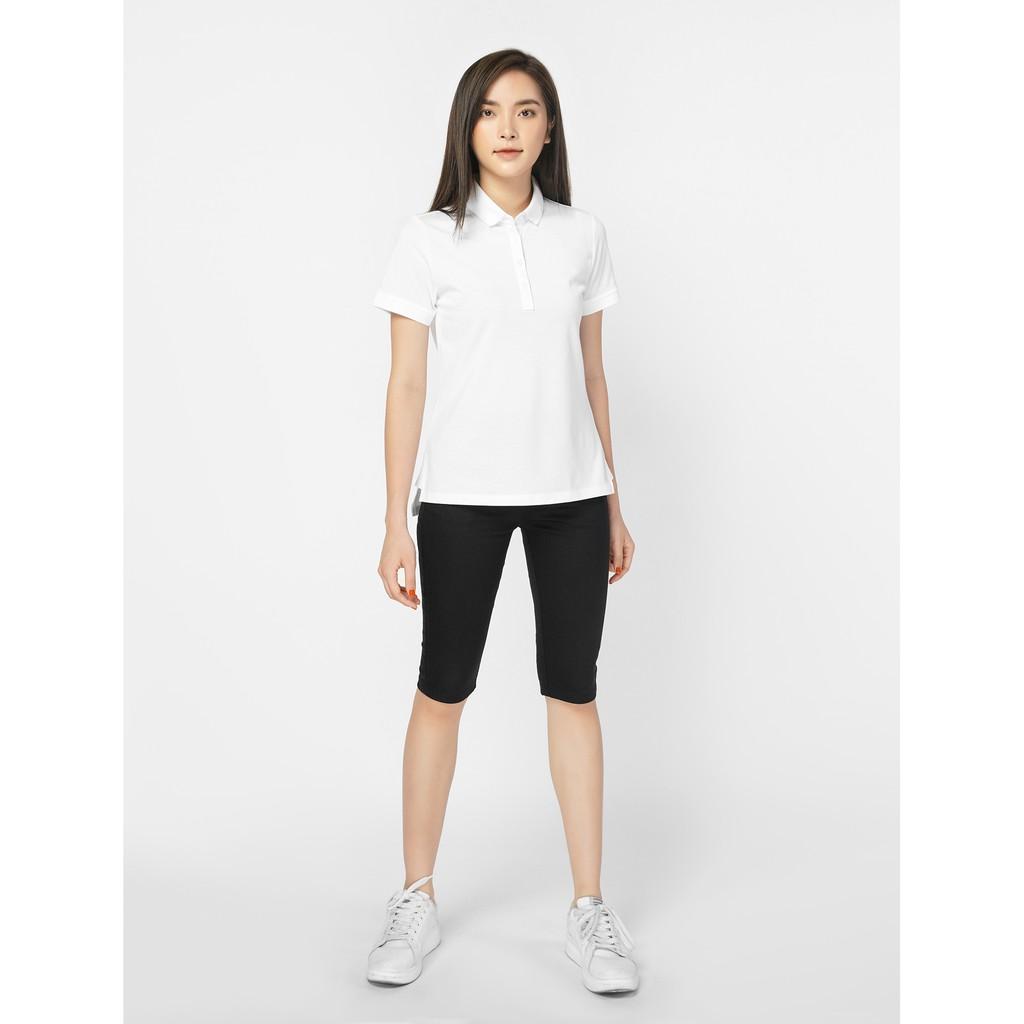 Quần shorts nữ kaki dáng ôm, có túi CANIFA 6BS19S026