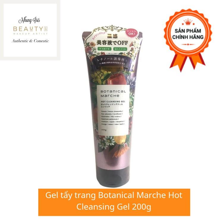Gel tẩy trang Botanical Marche Hot Cleansing Gel 200g