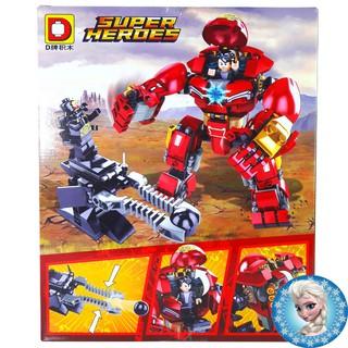Bộ Lego Xếp Hình Ninjago DNP-2002 Siêu Người Sắt. Gồm 334 Chi Tiết. Lego Ninjago Lắp Ráp Đồ Chơi Cho Bé. Lego Lắp Ráp