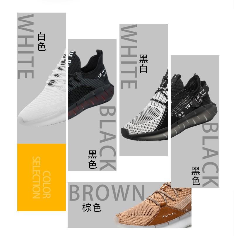 Giày Thể Thao Nam Thoáng Hơi Thời Trang Phong Cách Hàn Quốc