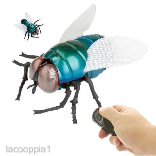 Remote Control Fly Infrared RC Insect Animal Scary Prank Tricks Gag Toy Gift