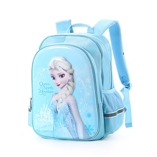 Ba Lô Đi Học In Hình Công Chúa Elsa Frozen Xinh Xắn Cho Bé Gái