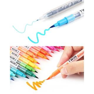 Hình ảnh Winzige Brush Pen Bút lông thiết kế 2 đầu viết hoặc vẽ-8