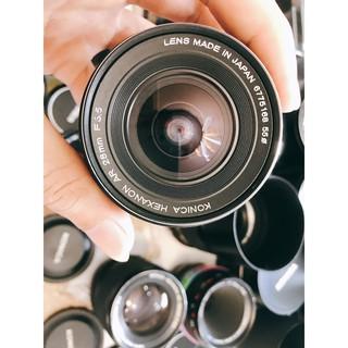 Ống kính MF Konica Hexanon AR 28mm F3.5 thumbnail