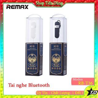 [Mã ELFLASH5 giảm 20K đơn 50K] Tai nghe remax RB-T36 hàng chính hãng có mic dòng 1 tai