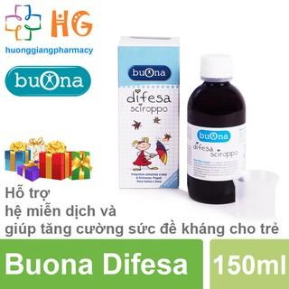 Buona Difesa - Hỗ trợ hệ miễn dịch và tăng sức đề kháng, giảm nguy cơ mắc bệnh đường hô hấp và tiêu hóa thumbnail