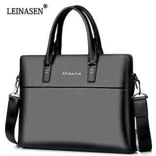 Cặp xách Leinasen PU 39x28x6cm ,Laptop14′ Hàng chuẩn