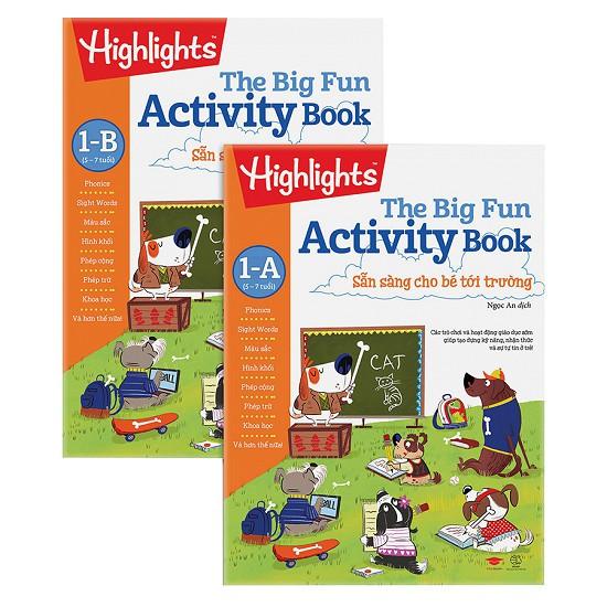 Sách - Combo Big Fun Activity Book - Sẵn Sàng Cho Bé Tới Trường 1 - A (5-7 Tuổi) - 3539963 , 1251886731 , 322_1251886731 , 330000 , Sach-Combo-Big-Fun-Activity-Book-San-Sang-Cho-Be-Toi-Truong-1-A-5-7-Tuoi-322_1251886731 , shopee.vn , Sách - Combo Big Fun Activity Book - Sẵn Sàng Cho Bé Tới Trường 1 - A (5-7 Tuổi)
