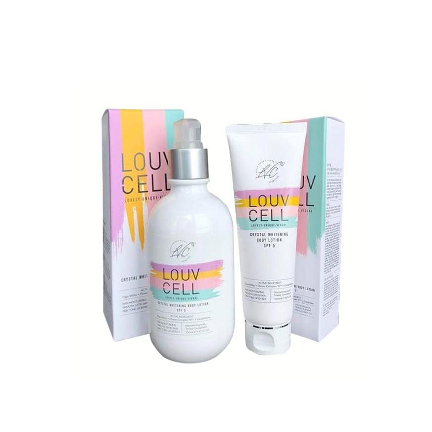 Sữa dưỡng trắng da body Louv Cell 120ml- 250ml