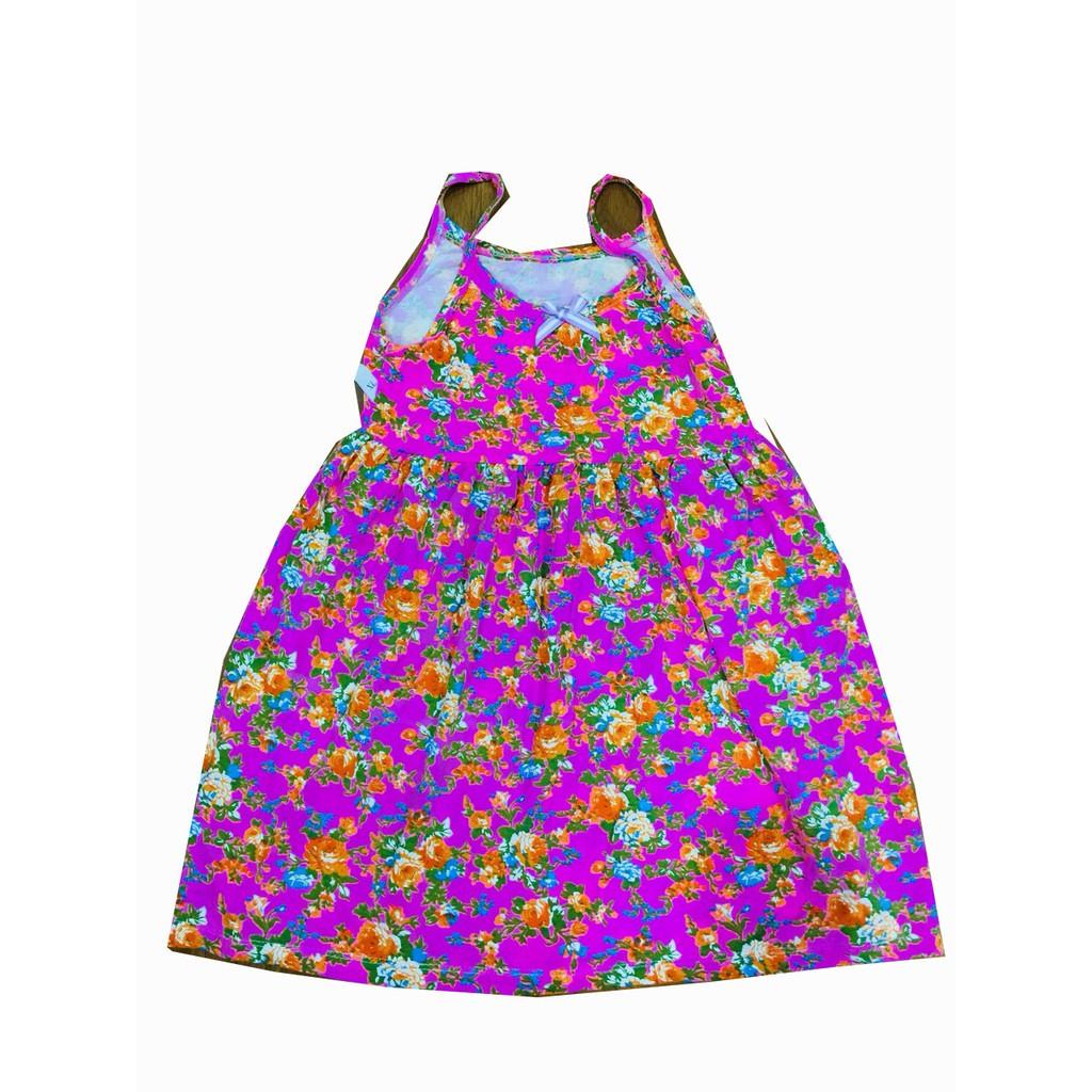 Combo 2 Váy Hai Dây Bé Gái Cực xinh 8-18kg (Giao Màu Ngẫu Nhiên)