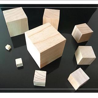 Khối gỗ vuông – Khối gỗ lập phương 5cm – loại gỗ mộc