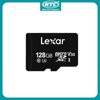 Thẻ nhớ MicroSDXC Lexar 128GB 667x V30 U3 4K R100MB/s W90MB/s - Không Box (Đen) - Nhất Tín Computer