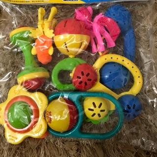 Bộ đồ chơi xúc xắc 8 món