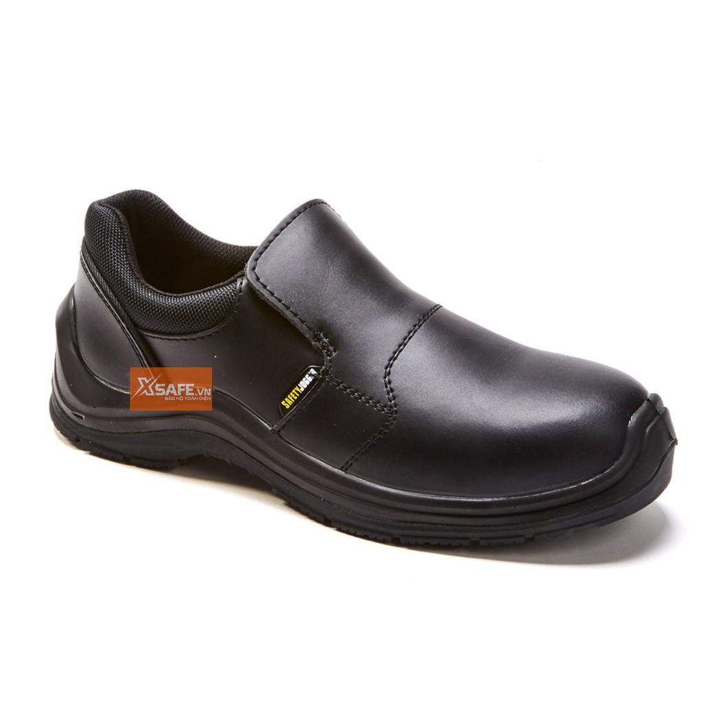 Giày bảo hộ lao động nam Jogger Dolce S3 SRC giày xỏ da bò cao cấp, chống nước, cấu tạo phi kim, chống trượt chuẩn SRC