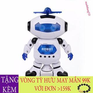 [SIÊU CHẤT LƯỢNG] Combo 2 Robot Biết Nhảy Và Hát Xoay 360 Độ Siêu Dễ Thương