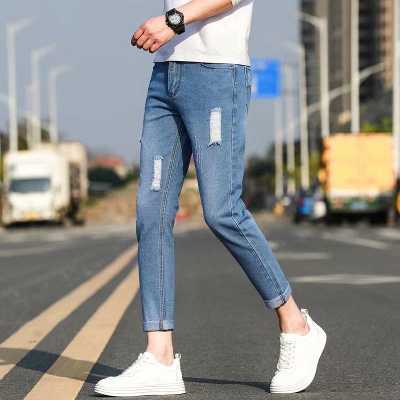 quần jean rách thời trang cho nam