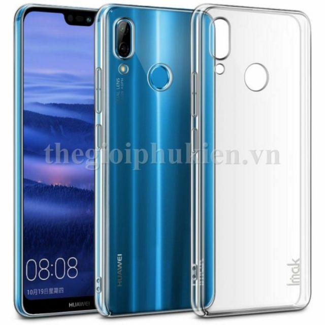 Ốp lưng imak xịn Huawei Nova 3e/ P20 lite phủ nano chống xước, không ố màu - Trong suốt