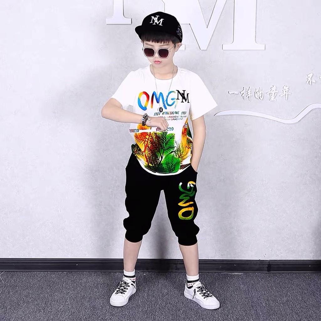 [Mã SKAMCLU7 giảm 10% cho đơn từ 0Đ] Bộ đồ bé trai, đồ bộ đùi be trai tilot hàn quốc mã 149 cho bé 5-14 tuổi.
